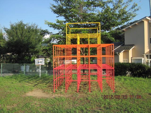 金沢市 児童公園 遊具熱交換塗料塗装