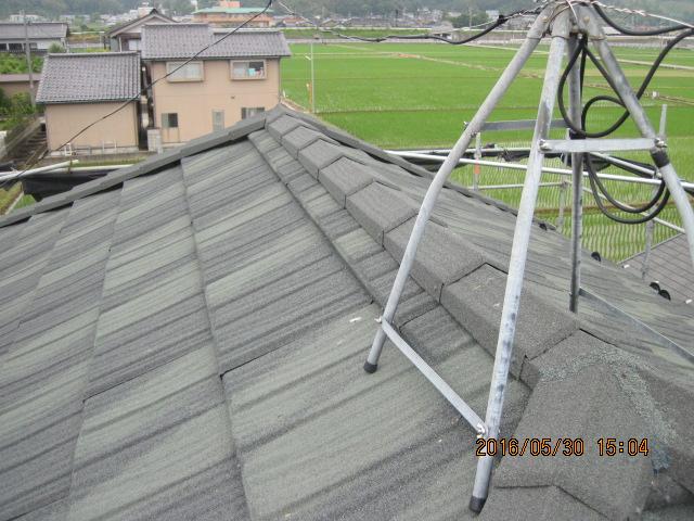 津幡町 S様邸 コロニアル屋根カバー工法 コロナ