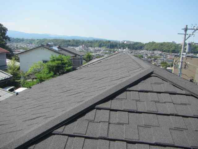 金沢市 アパート コロニアル屋根 カバー工法施工事例