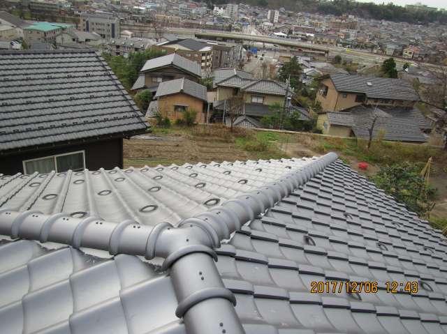金沢市 U様アパート屋根 葺き替え 三州瓦