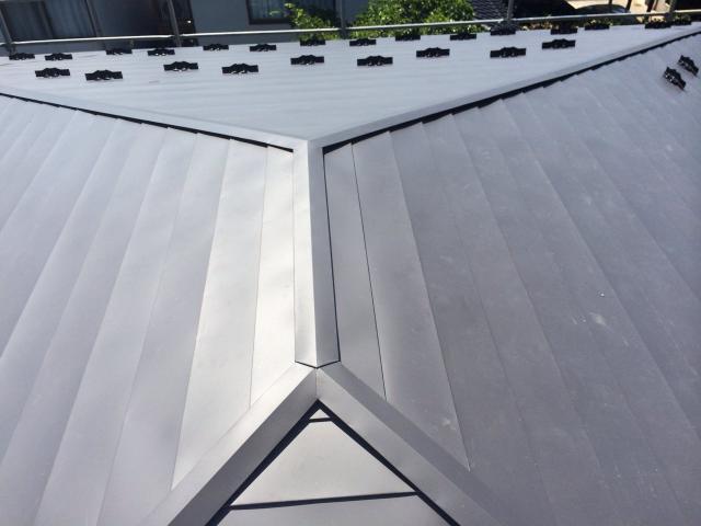 金沢市 O様邸 AT葺き屋根 カバー工法施工事例