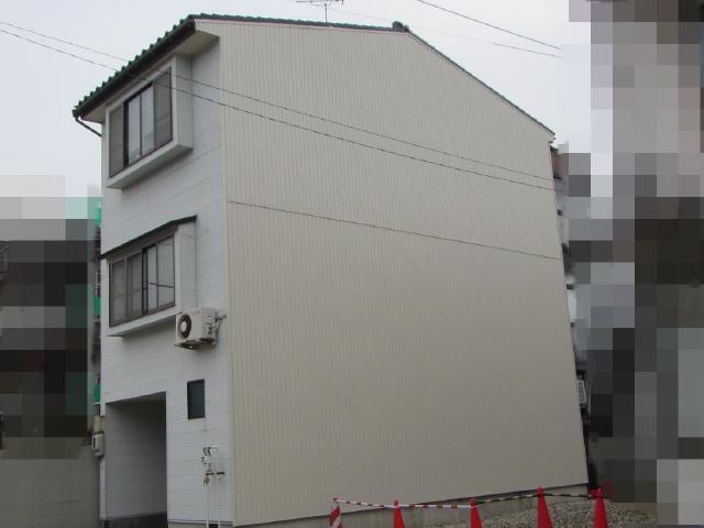 金沢市 I様邸 外壁板金張り工事