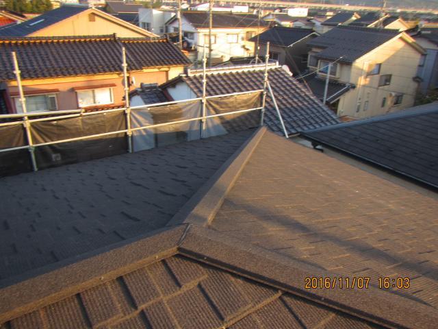 金沢市 K様邸 コロニアル屋根 カバー工法施工事例