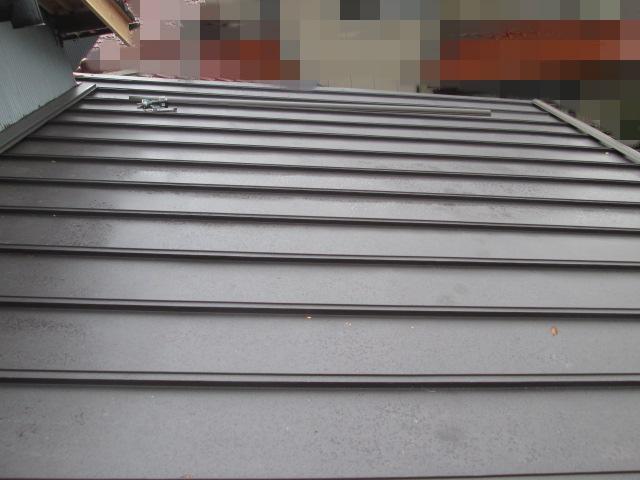 加賀市 B様邸 板金屋根葺き替え施工事例