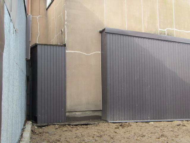 金沢市 N様邸 外壁板金修理施工事例