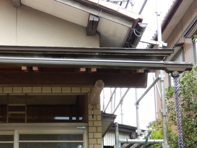 金沢市 N様邸 屋根・雨樋修理施工事例