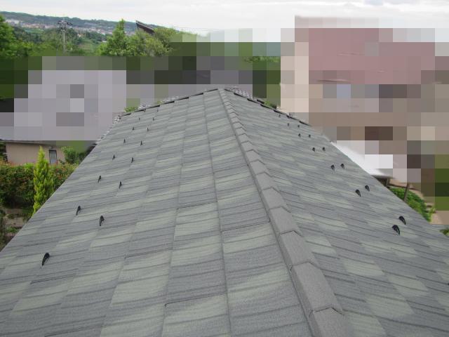 金沢市太陽ヶ丘 T様邸 コロニアル屋根 カバー工法施工事例
