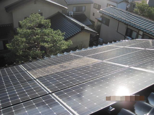 金沢市 T様 太陽光設置施工事例