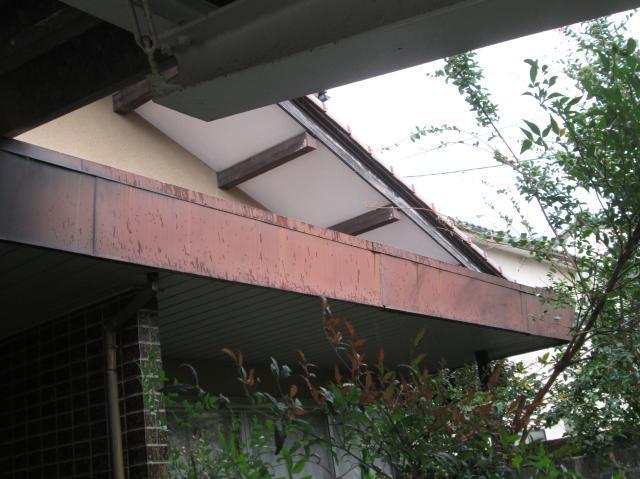 金沢市 T様邸 板金修理工事例