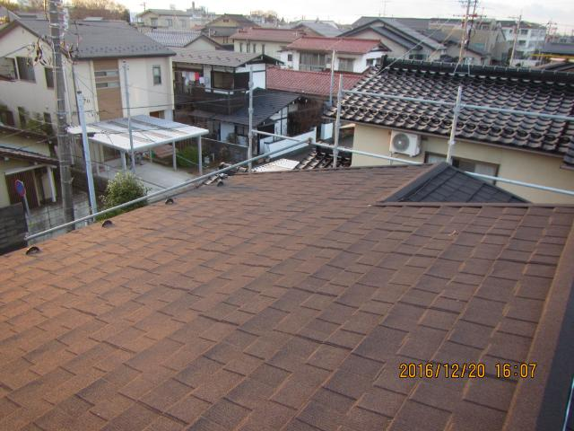 金沢市 Y様邸 コロニアル屋根カバー工法施工事例