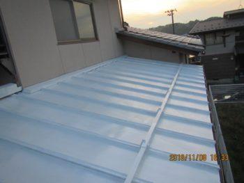 金沢市 H様邸 屋根修理・板金塗装施工事例