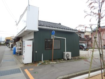 金沢市 金田乳販様 板金屋根・外壁施工事例