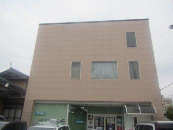 (有)ハセガワスポーツ様外壁修理・塗装工事