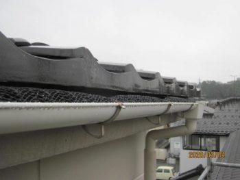 金沢市 エスタロード 雨樋取り替え工事