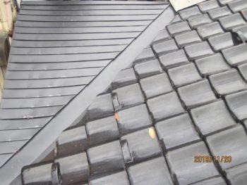 K様邸 屋根瓦締め直し・板金屋根修理施工事例