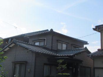 金沢市 O様邸 屋根修理施工事例