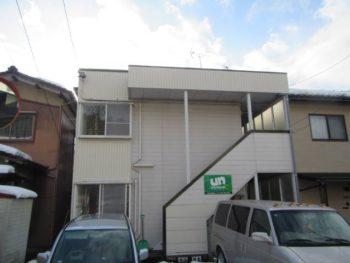 金沢市 ハイツラピーン 外壁工事