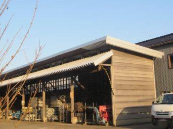 金沢市 Y工場オーナー様 屋根カバー工法施工事例